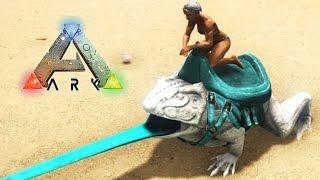 getlinkyoutube.com-AVENTURAS CON MI SUPER RANA!! - VillaTuber #32 - ARK: Survival Evolved