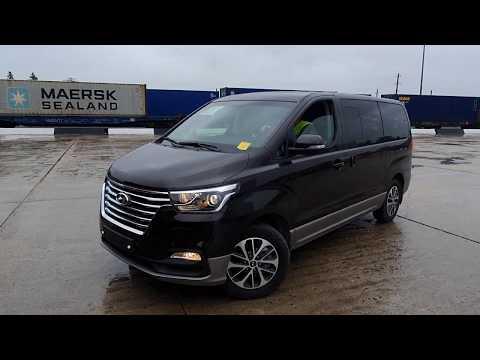 Выгрузка 6 Гранд Старексов Урбан Exclusive (Hyundai Grand Starex Urban Эксклюзив)