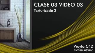 getlinkyoutube.com-Curso completo de Vray para Cinema 4d / CLASE03 VIDEO03 / Texturizado 2