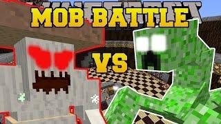 getlinkyoutube.com-Minecraft: CRUSHROOM VS MUTANT CREEPER - MOB BATTLE - Modded Mini-Game Challenge