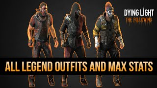 getlinkyoutube.com-MAX LEGEND LEVEL STATS AND OUTFITS REVEALED (Dying Light ALL LEGEND REWARDS)