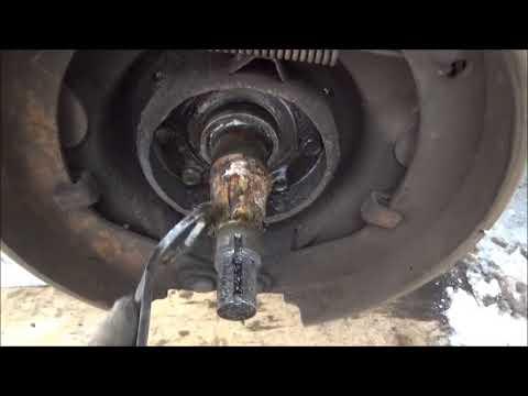 Меняем подшипники передней ступицы ГАЗ-53, 3307...