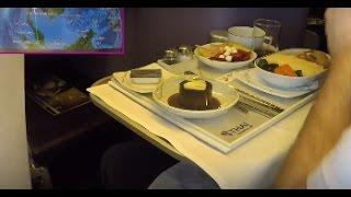 ✈︎ Trip Report ✈︎ THAI Airways    NEW Business Class    to Kuala Lumpur