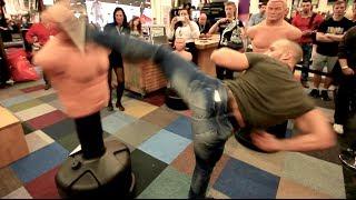 getlinkyoutube.com-Martial Arts @ FIBO 2014 - Flying Uwe