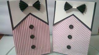 getlinkyoutube.com-DIY : #4 Cute Paper Bags For Gift ♥