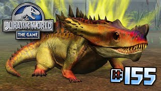 getlinkyoutube.com-SUPER FLAFFY! || Jurassic World - The Game - Ep 155 HD