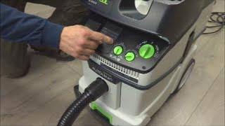 getlinkyoutube.com-Festool 36 Auto Clean Vacuum Demonstration