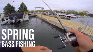 getlinkyoutube.com-Finesse Fishing Docks For Spring Bass -- ft. Apbassin