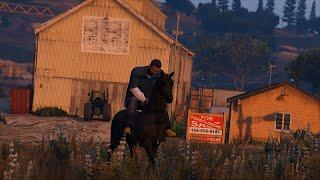 getlinkyoutube.com-GTA 5: How to Ride a Horse - (GTA 5 Ride a Horse)