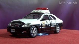getlinkyoutube.com-トミカリミテッド TL0154 トヨタ クラウン パトロールカー