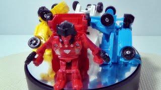 getlinkyoutube.com-And roio 트랜스포머 봇샷 변신로봇 자동차 비행기 중국산 짝퉁 장난감 제품