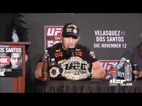 UFC on FOX Post-fight Press Conference