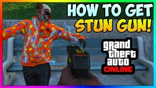 getlinkyoutube.com-GTA 5 Online How To Get STUN GUN ONLINE GLITCH! How To Get RARE Guns FREE 1.37 (New GTA 5 Glitches)