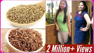 getlinkyoutube.com-Quick Weight Loss Tips with Cumin & Carom Seeds | How to Lose Weight Naturally