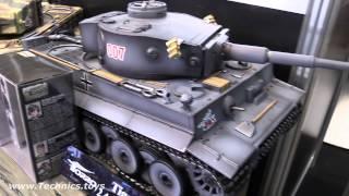 getlinkyoutube.com-Torro RC tanks - exhibition 2015 - SPIELWARENMESSE 2015 Nuremberg