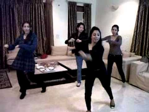 Laung da lishkara rehersal choreographed by Deepshikha Arora for Singhvi's ,and Mittal family 2011