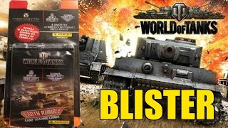 getlinkyoutube.com-OPENING BLISTER WORLD OF TANKS EARTH RUMBLE by PANINI