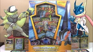 Pokemon Cards - Mega Swampert EX Premium Collection Box Opening   INCREDIBLE PULLS!!!