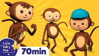 getlinkyoutube.com-5 Little Monkeys Jumping On The Bed | Plus Lots More Nursery Rhymes | from LittleBabyBum!