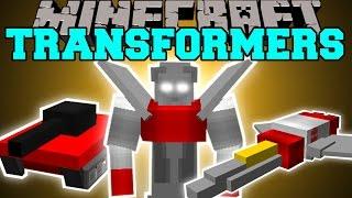 getlinkyoutube.com-Minecraft: TRANSFORMERS (MORPH INTO ROBOTS, PLANES, TANKS & CARS!) Mod Showcase