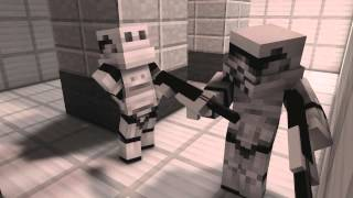Star Wars in Minecraft - Minecraft Animation