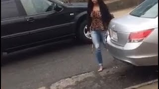 getlinkyoutube.com-Incredible Video! Ex-girlfriend going crazy and attempted MURDER!