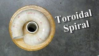 getlinkyoutube.com-Making A PVC Segmented Toroidal Spiral