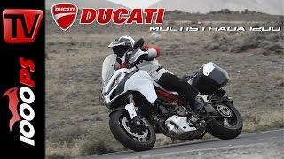 getlinkyoutube.com-2015 | Ducati Multistrada 1200 S im Test | Action, Details, Fazit