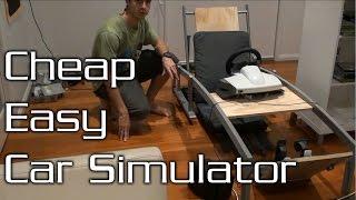 getlinkyoutube.com-How to Make a Cheap Car Simulator Frame!