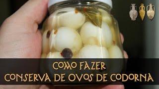 getlinkyoutube.com-Conserva de Ovos de Codorna