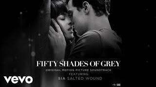 """getlinkyoutube.com-Sia - Salted Wound (From The"""" Fifty Shades Of Grey"""" Soundtrack (Audio)"""