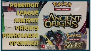 getlinkyoutube.com-Pokemon Ancient Origins Prerelease Booster Pack Opening!