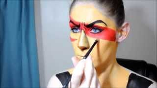 getlinkyoutube.com-Steven Universe: Jasper Makeup