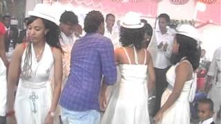 getlinkyoutube.com-eritrean wedding in israel yemane with fyori 2013