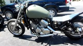 getlinkyoutube.com-Honda Magna Bobber, Custom Metric Bobber