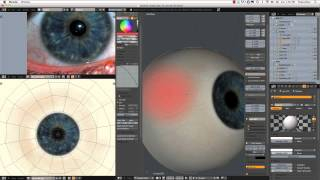getlinkyoutube.com-Creating a Realistic Head in Blender - part 06 - Eyes