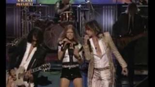 getlinkyoutube.com-Aerosmith & Fergie Walk This Way