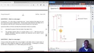 14.GRADE 12 : PROJECTILE MOTION: PHYSICAL SCIENCE FEB-MAR P1 2010 P1: 2 OF 16