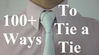 getlinkyoutube.com-How to Tie the Zelda Triforce Knot for your Necktie Tie