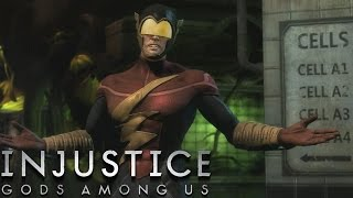 getlinkyoutube.com-Injustice: Gods Among Us - The Flash - Classic Battles On Very Hard (No Matches Lost)