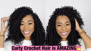 getlinkyoutube.com-Crochet Braids: X- Pressions Party Curl |ChimereNicole