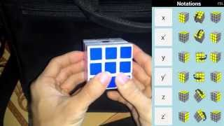 getlinkyoutube.com-Cách chơi rubik 3x3x3 dễ dàng nhất - Ký hiệu xoay trong công thức