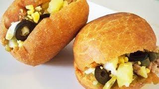 getlinkyoutube.com-Recette fricassés tunisiens / Cuisine tunisienne