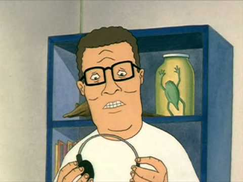 Hank Hill listens to derpstep for the first time
