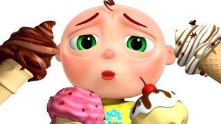 getlinkyoutube.com-Five Little Babies Eating Ice Cream   Five Little Babies Collection   Nursery Rhymes   Zool Babies