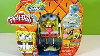 getlinkyoutube.com-Play Doh Bob Esponja Nickelodeon - Juguetes de Play-Doh