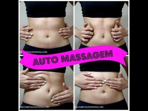 Auto-Massagem no Abdômen (Reduzindo Medidas)