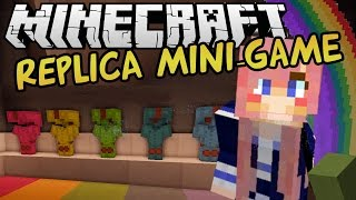 getlinkyoutube.com-Pixel Art Race | Replica Minecraft Mini-game
