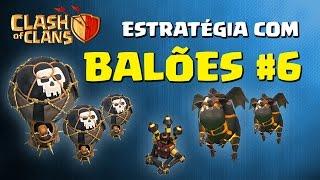 getlinkyoutube.com-Clash of Clans – Ataque com Balões e Lava Hound em centro de vila nível 10