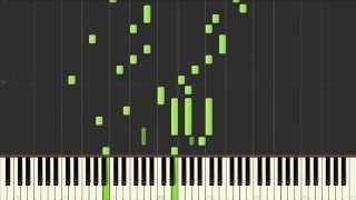 LINE着信音即興曲を採譜してみた!(ピアノ楽譜)